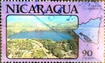 Stamps : America : Nicaragua :  Intercambio 0,20 usd 90 cent. 1978