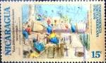 Sellos del Mundo : America : Nicaragua : Intercambio 0,20 usd 15 cent. 1975