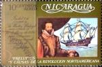 Sellos del Mundo : America : Nicaragua : Intercambio 0,20 usd 10 cent. 1973