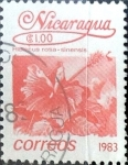 Sellos de America - Nicaragua -  Intercambio 0,20 usd 1 Córdoba 1983