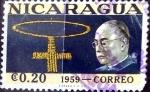 Stamps : America : Nicaragua :  Intercambio 0,20 usd 20 cent. 1959