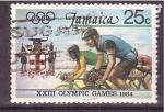 Stamps Jamaica -  XXIII juegos olimpicos