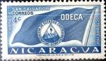 Sellos del Mundo : America : Nicaragua : Intercambio 0,20 usd 4 cent. 1953
