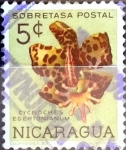 Sellos de America - Nicaragua -  Intercambio 0,20 usd 5 cent. 1962