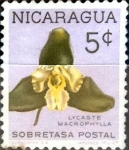 Stamps : America : Nicaragua :  Intercambio 0,20 usd 5 cent. 1962