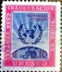 Stamps : America : Nicaragua :  Intercambio 0,20 usd 10 cent. 1958
