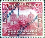 Stamps : America : Nicaragua :  Intercambio 0,20 usd 2 cent. 1914
