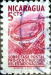 Stamps Nicaragua -  Intercambio 0,20 usd 5 cent. 1952