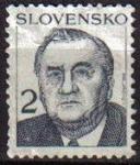 Sellos del Mundo : Europa : Eslovaquia : ESLOVAQUIA 1993 Scott 159 Sello Presidente Michal Kovac Michel 166