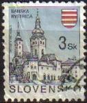 Sellos del Mundo : Europa : Eslovaquia : ESLOVAQUIA 1994 Michel 206 Sello Ciudades Banska Bystrica Usado
