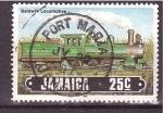 Sellos de America - Jamaica -  locomotora