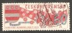 Sellos de Europa - Checoslovaquia -  1711 - 50 anivº de la República Eslovaca