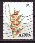 Stamps Jamaica -  planta