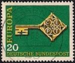 Sellos de Europa - Alemania -  Europa CEPT