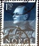 Sellos de Europa - Noruega -  Intercambio 0,20 usd 1,5 krone 1959