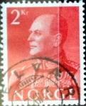 Sellos de Europa - Noruega -  Intercambio 0,20 usd 2 krone 1959