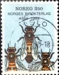 Sellos del Mundo : Europa : Noruega : Intercambio crxf2 0,20 usd 2,50 krone 1984
