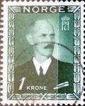 Sellos del Mundo : Europa : Noruega : 1 krone 1946