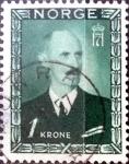 Sellos de Europa - Noruega -  Intercambio 0,20 usd 1 krone 1946