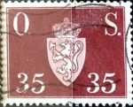 Sellos de Europa - Noruega -  Intercambio mas 0,70 usd 35 ore 1952