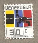 Stamps Venezuela -  Nacionalización Petrolera