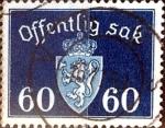 Sellos de Europa - Noruega -  Intercambio 0,60 usd 60 ore 1938