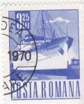 Sellos de Europa - Rumania -  transatlántico