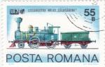 Stamps Romania -  locomotora NR.43 Calugareni