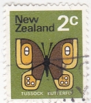 Stamps : Oceania : New_Zealand :  mariposa