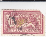 Stamps France -  mujer joven