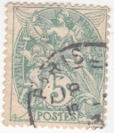 Stamps France -  justicia