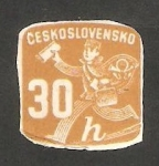 Stamps Czechoslovakia -  31 - Cartero