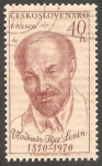 Stamps Czechoslovakia -  1770 - Vladimir Ilitc Lenin