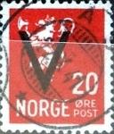 Stamps Norway -  Intercambio 0,20 usd 20 ore 1941