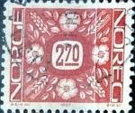 Sellos de Europa - Noruega -  Intercambio 0,20 usd 2,70 krone 1987