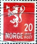 Stamps : Europe : Norway :  Intercambio 0,20 usd 20  ore 1940