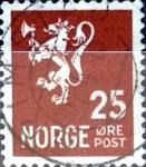 Sellos del Mundo : Europa : Noruega : Intercambio 0,20 usd 25 ore 1940