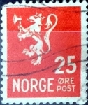 Stamps : Europe : Norway :  Intercambio 0,20 usd 25 ore 1946