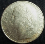 monedas de Europa - Italia -  1962 (Anverso)