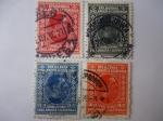 Stamps Yugoslavia -  Rey Alexandre I - Serebia-Croacia-Slovenia.