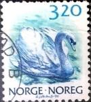 Sellos de Europa - Noruega -  Intercambio m2b 0,20 usd 3,20 krone  1986