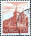 Sellos de Europa - Noruega -  Intercambio 0,20 usd 1,50 krone  1981