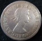 monedas de Europa - Reino Unido -  1961 (Anverso)