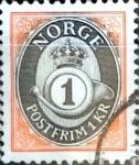 Sellos de Europa - Noruega -  Intercambio 0,20 usd 1 krone 1992