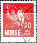 Sellos de Europa - Noruega -  Intercambio 0,30 usd 20 ore 1930