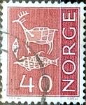 Sellos de Europa - Noruega -  Intercambio 0,20 usd 40 ore 1963