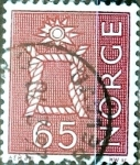 Stamps of the world : Norway :  Intercambio 0,20 usd 65 ore 1968