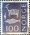 Stamps Norway -  Intercambio 0,20 usd 100 ore 1970