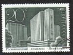 Stamps Russia -  Hotel