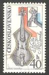 Stamps Czechoslovakia -  2050 - 25 anivº de la Filarmonica eslovaca, Festival internacional de música en Bratislava y Praga